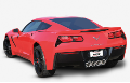 2014-2018 Corvette C7 Stingray  ( w/o NPP ) Axle Back / ATAK (SKU: Borla-11881)