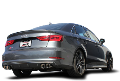 2015-2017 Audi 8V S3 / Cat Back Exhaust / S-Type (SKU: Borla-140631)