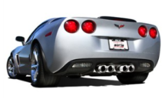 2009-2013 Corvette C6 - Axle Back Exhaust - TOURING - Sound