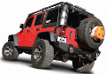 2012-2018 Jeep Wrangler JK / JKU / Axle Back / Black Tips / Touring (SKU: Borla-11834BC)