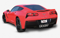2014-2018 Corvette C7 STINGRAY / AFM & NPP VALVES / Axle Back / S-Type (SKU: Borla-11874)