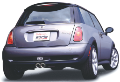 2004-2006 Mini Cooper S / Cat Back Exhaust / S-Type (SKU: Borla-140119)