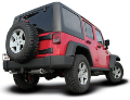 2012-2018 Jeep Wrangler JKU / Cat Back / Dual Rear Exit / Touring (SKU: Borla-140459)