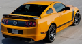 2013-2014 Mustang GT / Boss 302 / Cat Back / Black Tips # 36 / S-Type (SKU: Borla-140515BC)