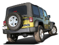 "2007-2011 Jeep Wrangler JKU 4 Door ""Climber"" / Cat Back / Left Rear Exit / S-Type (SKU: Borla-140655)"
