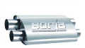 Borla Pro XS Muffler / 2.50 Dual IN / 2.50 Dual OUT / 24 Length (SKU: Borla-400286)