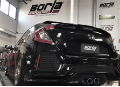 2017-2018  Honda Civic Sport / Cat Back Exhaust / S-Type (SKU: Borla-140739)