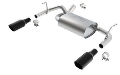 2012-2018 Jeep Wrangler JK / JKU / Axle Back Exhaust / Black Exhaust Tips / ATAK (SKU: Borla-11860BC)