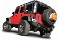 2012-2018 Jeep Wrangler JK / JKU / Axle Back / Black Tips / Touring (SKU: Borla-11818BC)