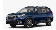 2019-2021 Subaru Forester / Axle Back / Single Tip / S-Type (SKU: Borla-11966)