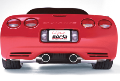 1997-2004 Corvette C5 / C5 Z06  / Cat Back /  Single Split Tips / S-Type (SKU: Borla-140017)