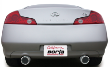 2003-2007 Infiniti G35 Coupe / Cat Back Exhaust / S-Type (SKU: Borla-140057)