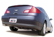 2003-2006 Infiniti G35 Sedan / RWD Only / Cat Back Exhaust (SKU: Borla-140093)