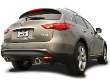 2009-2012 Infiniti FX50 / Cat Back Exhaust / S-Type (SKU: Borla-140339)