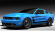 2011-2012 Mustang GT / 2012-2013 Boss 302 / Cat Back / Black Tips # 49 / S-Type (SKU: Borla-140370BC)