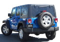 "2012-2018 Jeep Wrangler 4 door ""Climber"" / Cat Back / S-Type (SKU: Borla-140634)"