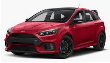 2016-2018 Ford Focus RS / Cat Back / Black Tips / ATAK (SKU: Borla-140730BC)