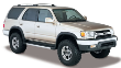 1996-2002 Toyota 4Runner / Cat Back / Touring (SKU: Borla-14659)