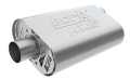 "CHRYSLER 2.50"" Borla S Type Muffler / 383 / 413 / 440 / Offset Inlet / Center Outlet / BBM (SKU: Borla-400940)"