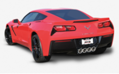2014-2019 Corvette C7 STINGRAY / NO NPP - No AFM  / Axle Back Exhaust / S-TYPE Sound