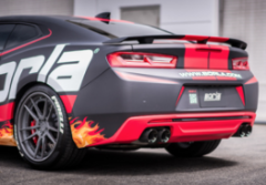 2016-2020 Camaro SS / With NPP / Axle Back / Carbon Fiber - Dual Tips / S-Type
