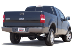 2004-2008 Ford F-150 / Cat Back Exhaust / SINGLE SIDE EXIT / Touring