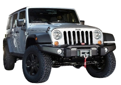2012-2018 Jeep Wrangler JKU / 4 Door / Cat Back / Black Tips / Right Rear Exit / Touring