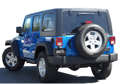 "2012-2018 Jeep Wrangler 4 door ""Climber"" / Cat Back / S-Type"