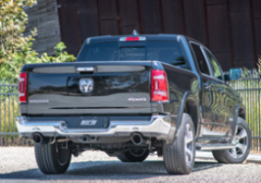 2019-2020 Dodge Ram 1500 / Cat Back / Dual Rear Exit / Black Tips / S-Type