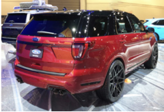 2018-2019 Ford Explorer Sport / Cat Back / Dual Carbon Fiber Tips / S-Type