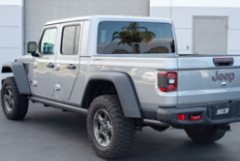2020-2020 Jeep Gladiator / Cat Back / Side Exit - Dual Black Tips / S-Type