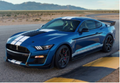 2020-2020 Ford Mustang Shelby GT500 / Cat Back / Black Tips / ATAK
