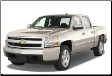 2007-2008 ( 4.8L )( 5.3L )( 6.0L ) Silverado 1500  / Sierra 1500 / Cat Back / Dual Rear Exit / Single Tips / Standard