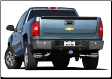 2009-2013 ( 4.8L )( 5.3L )( 6.0L ) Silverado 1500 / Sierra 1500 / Cat Back / Dual Side Exit / Single Tips / Touring