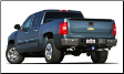 2011-2013 ( 6.2L ) Silverado / Sierra / Sierra Denali 1500 / Cat Back / Dual Rear Exit / Single Tips / Touring