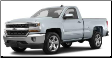 2014-2018 ( 5.3L ) Silverado 1500 / Sierra 1500 / Cat Back / Dual Rear Exit / Single Tips / ATAK