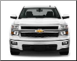 2014-2018 ( 5.3L ) Silverado 1500 / Sierra 1500 / Cat Back / Dual Side Exit / Single Tips / ATAK